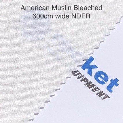 American Muslin Bleached
