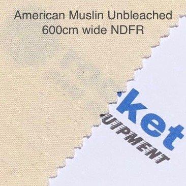American Muslin Unbleached