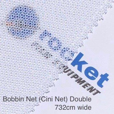 Lighting Textile Bobbin Net White Double
