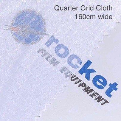 Lighting Textile Grid Cloth Quarter White